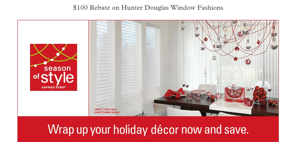Hunter Douglas Specials Blinds Amp Drapery Showroom