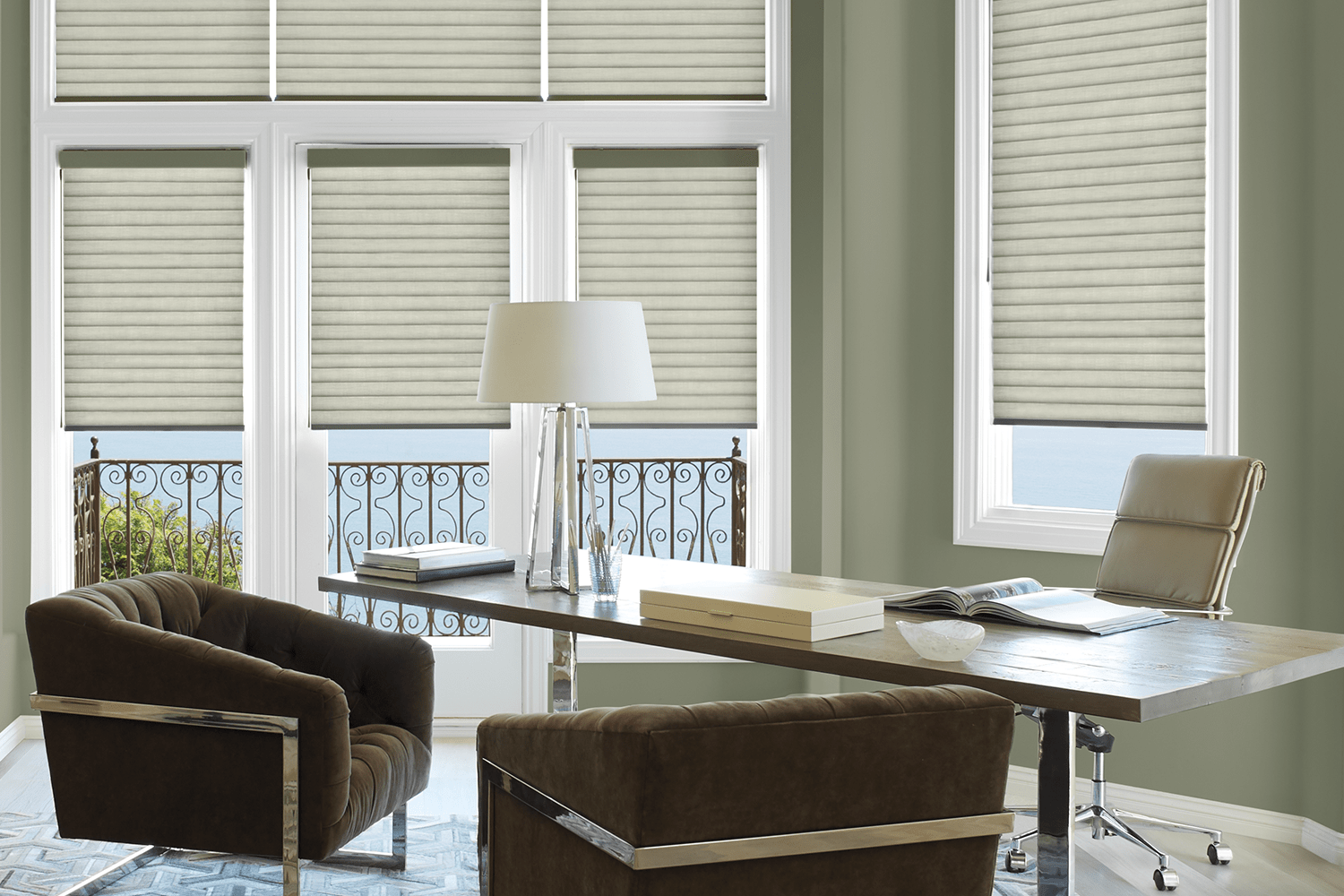 sonnette in office main blinds and drapery showroom havertown pa